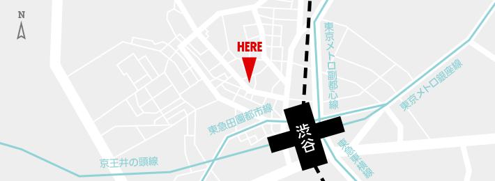 アドアーズ渋谷店 地図